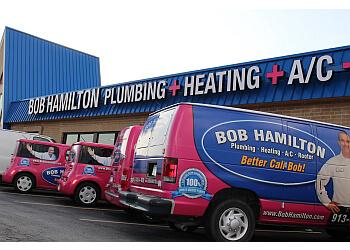 Overland Park plumber Bob Hamilton Plumbing, Heating, AC & Rooter