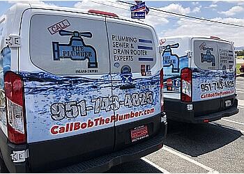 Moreno Valley plumber Bob The Plumber