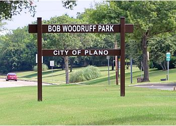 Plano hiking trail Bob Woodruff Park Trail