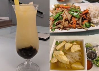 Greensboro vegetarian restaurant Boba House