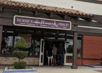 Bakersfield gift shop Bobbi's Hallmark Shop