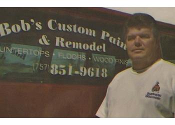 Hampton painter Bob's Custom Paint and Remodel