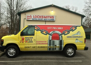 Indianapolis locksmith Bob's Master Safe & Lock