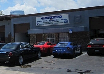 Fort Lauderdale auto body shop Body Craft USA