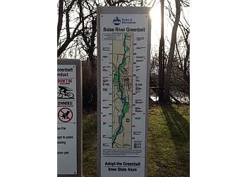 Boise City hiking trail Boise River Greenbelt Trail