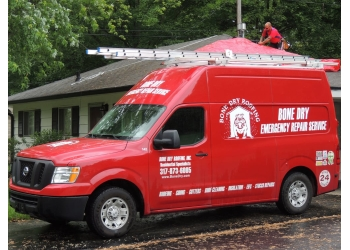 Indianapolis roofing contractor Bone Dry Roofing