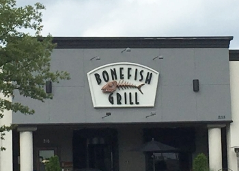 Chattanooga seafood restaurant Bonefish Grill