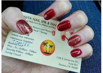 Denton nail salon Bonita Nail Spa & Tan