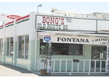 Fontana italian restaurant Bono's Restaurant & Deli