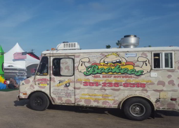 Corpus Christi food truck Bookoos All - Beef Hot Dogs