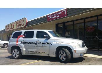 Tulsa printing service Boomerang Printing