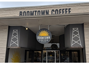 Houston cafe Boomtown Coffee