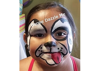Arlington face painting Boone Dazzle Me