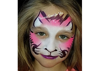 Dallas face painting Boone Dazzle Me