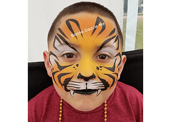 Garland face painting Boone Dazzle Me