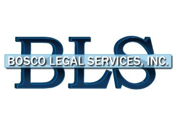 San Bernardino private investigation service  Bosco Legal Services, Inc.