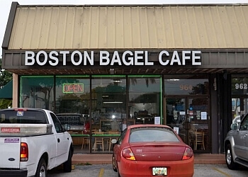 Fort Lauderdale bagel shop Boston Bagel Cafe