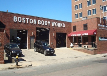 Boston auto body shop Boston Body Works, Inc.