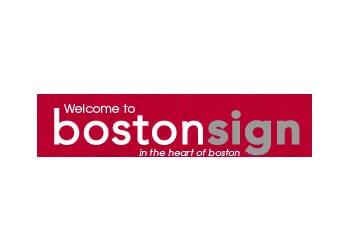 Boston sign company Boston Sign Company Inc.