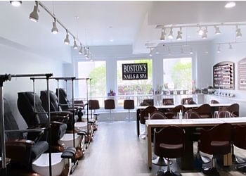 Boston nail salon Boston's Nails & Spa