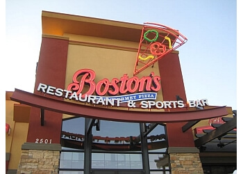 Arlington pizza place Boston's Restaurant & Sports Bar