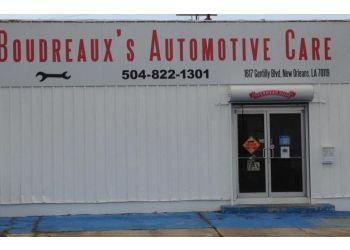 New Orleans car repair shop Boudreaux's Automotive Care