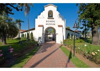 Santa Ana places to see Bowers Museum