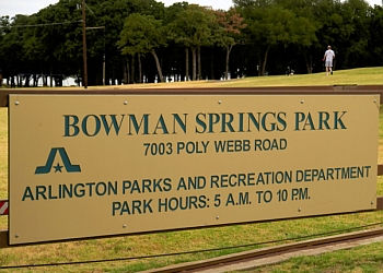 Arlington hiking trail Bowman Springs Park Trail