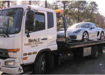 Cary towing company Brace Towing & Recovery