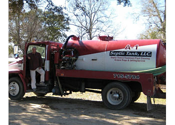 Baton Rouge septic tank service Bracy's A-1 Septic