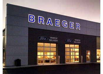 Milwaukee car dealership Braeger Ford, Inc.