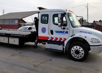 Fullerton towing company BREA TOWING SERVICE