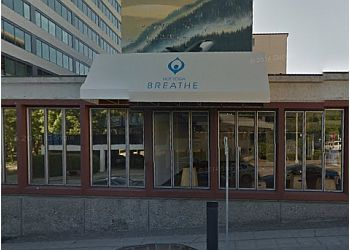 Seattle yoga studio Breathe Hot Yoga