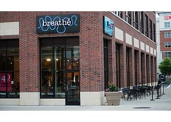 Rochester yoga studio Breathe Yoga & Juice Bar