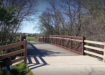 Richardson hiking trail Breckinridge Park Trail