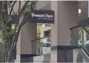 Bellevue massage therapy Breeze Spa Foot & Body Massage