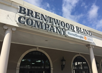 Nashville window treatment store Brentwood Blind Company, Inc
