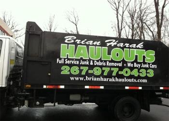 Philadelphia junk removal Brian Harak Haulouts