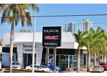 Miami car dealership Brickell Buick & GMC
