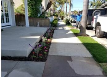 Santa Ana lawn care service Bright Vista Landscape Inc