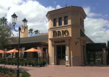 Irvine italian restaurant Brio Tuscan Grille