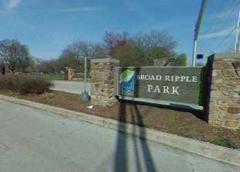 Indianapolis public park Broad Ripple Park