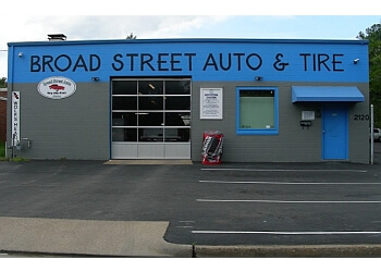 Richmond car repair shop Broad Street Auto & Tire