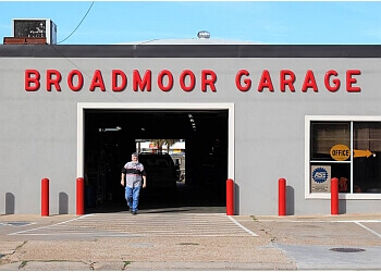 Shreveport car repair shop Broadmoor Garage