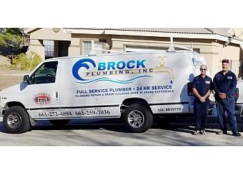 Palmdale plumber Brock Plumbing