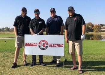 Bakersfield electrician Bronco Electric Inc