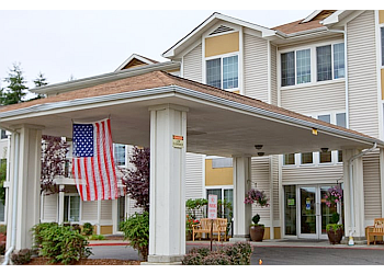 Tacoma assisted living facility Brookdale Allenmore