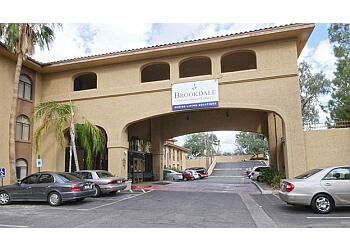 Phoenix assisted living facility Brookdale Central Paradise Valley