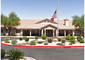 Phoenix assisted living facility Brookdale Desert Ridge