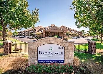 Irving assisted living facility Brookdale Irving